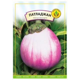 Семена Патладжан шарен - бяло с виолетово | Макадамия 05