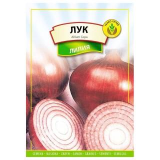 Семена червен лук Лилия | Макадамия 05