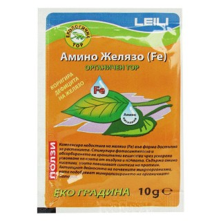 Амино желязо (Fe) органичен  тор при дефицита на желязо | Макадамия 05