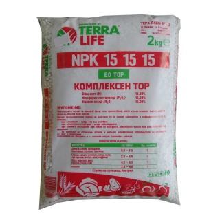 NPK / НПК гранулиран комплексен тор 15-15-15 | Макадамия 05